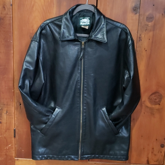 Roots Jackets & Blazers - Roots Made In Canada Leather Jacket Womens Sz S/P
